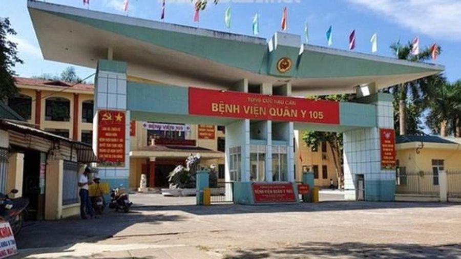 Bệnh viện Quân Y 105 thực hiện cách ly hoàn toàn bệnh viện
