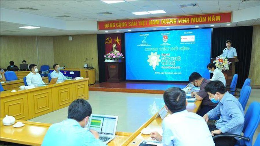 Khởi động cuộc thi 'Công nghệ trí tuệ Student Chie-Tech' năm 2021