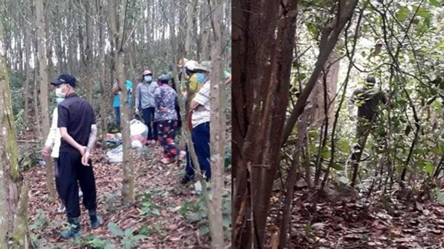 Phát hiện thi thể người đàn ông ở bìa rừng sau 5 ngày mất tích
