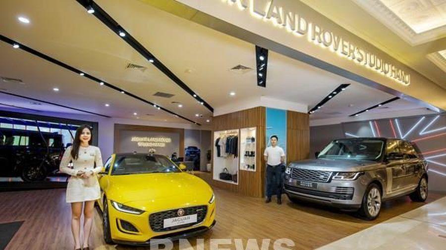 Jaguar Land Rover ra mắt không gian trưng bày xe mới ở Hà Nội