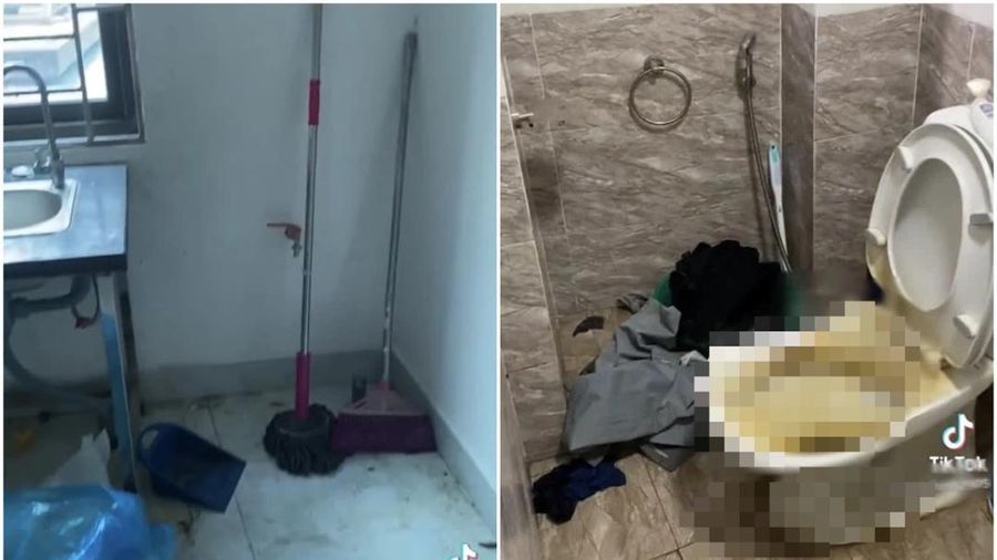 Kiểm tra phòng trọ mà nhóm nam sinh vừa trả phòng, chủ nhà được phen rùng mình với cảnh tượng bên trong