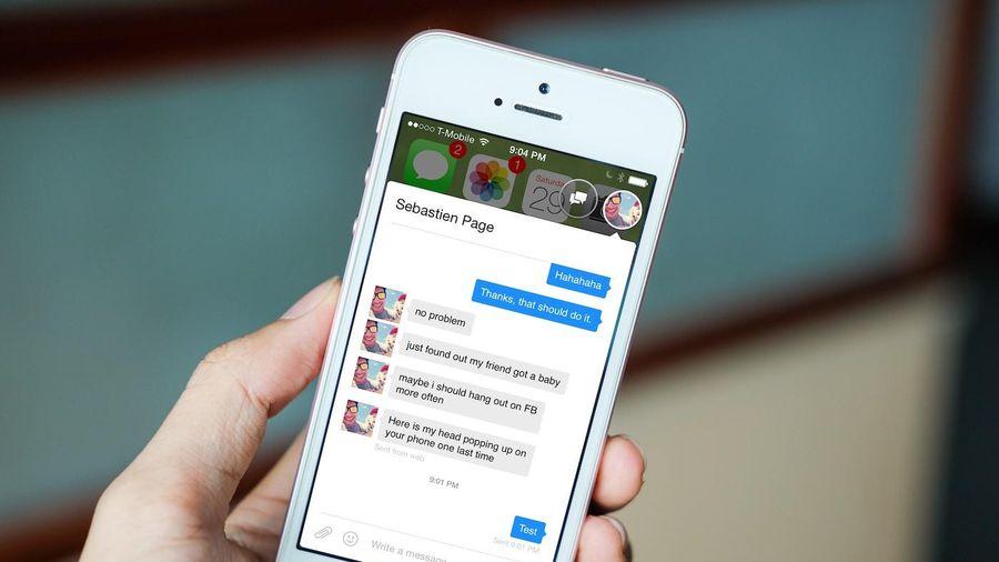 Cách bật bong bóng chat Messenger trên iPhone