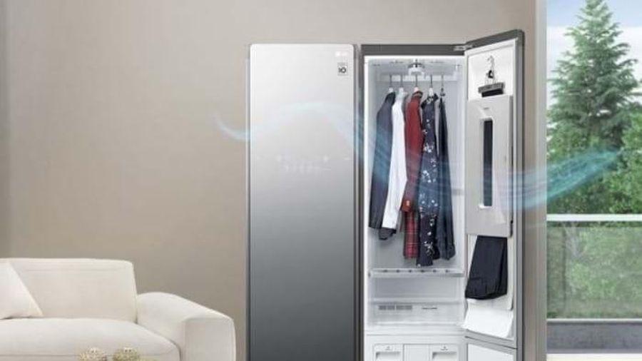 LG ra mắt tủ chăm sóc quần áo thông minh