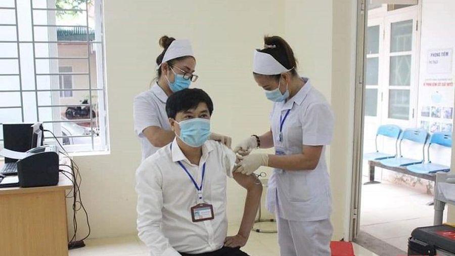 TP Sầm Sơn hoàn thành tiêm vắc - xin phòng COVID-19 đợt 1