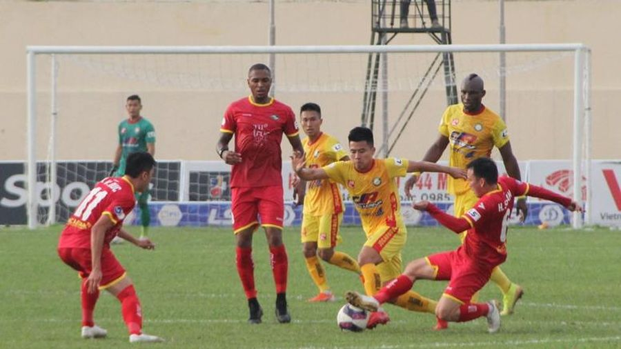 Tạm dừng Giải vô địch bóng đá quốc gia LS V.League 2021