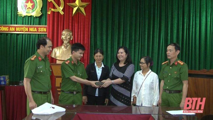 Công an huyện Nga Sơn: Tăng cường công tác phòng, chống tội phạm và tệ nạn xã hội