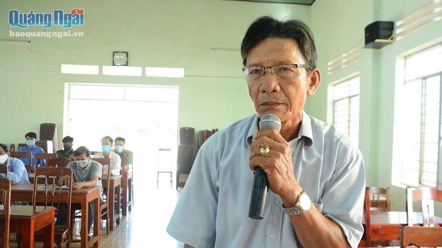 Ứng cử viên HĐND tỉnh tiếp tục tiếp xúc cử tri tại xã Bình Hải