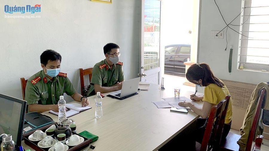 Quảng Ngãi: Bị công an mời làm việc vì đăng thông tin cá nhân người khác liên quan đến dịch Covid-19 lên mạng xã hội