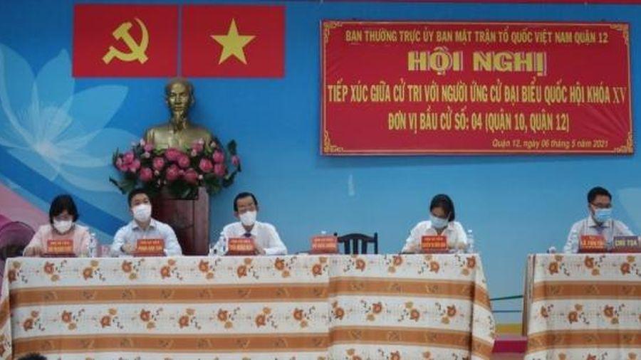 Ứng cử viên đại biểu quốc hội khóa XV đơn vị bầu cử số 04 TP. Hồ Chí Minh mong muốn đóng góp cho địa phương