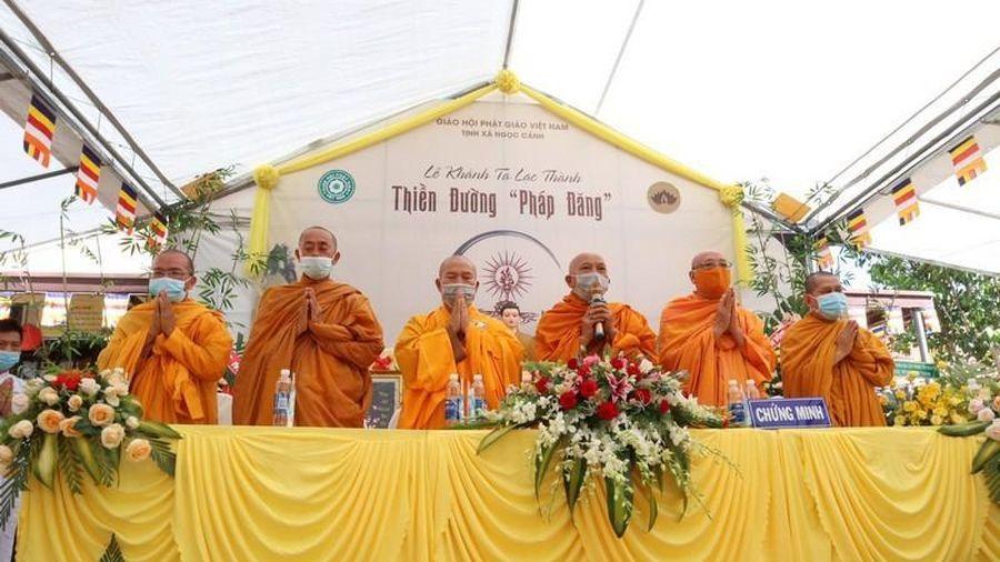 Lâm Đồng: Khánh tạ thiền đường Pháp Đăng thuộc tịnh xá Ngọc Cảnh