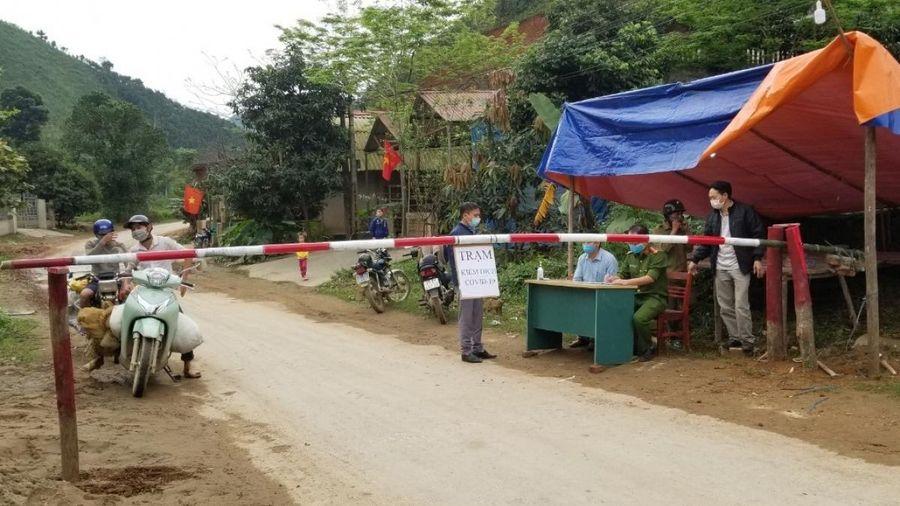 Yên Bái cách ly xã hội toàn bộ xã Gia Hội, huyện Văn Chấn