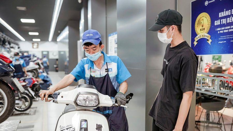 Piaggio Việt Nam tiếp tục cam kết mạnh mẽ về độ tin cậy của các dòng xe