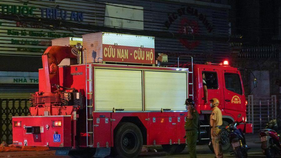 7 thi thể trong căn nhà bị cháy ở TP.HCM