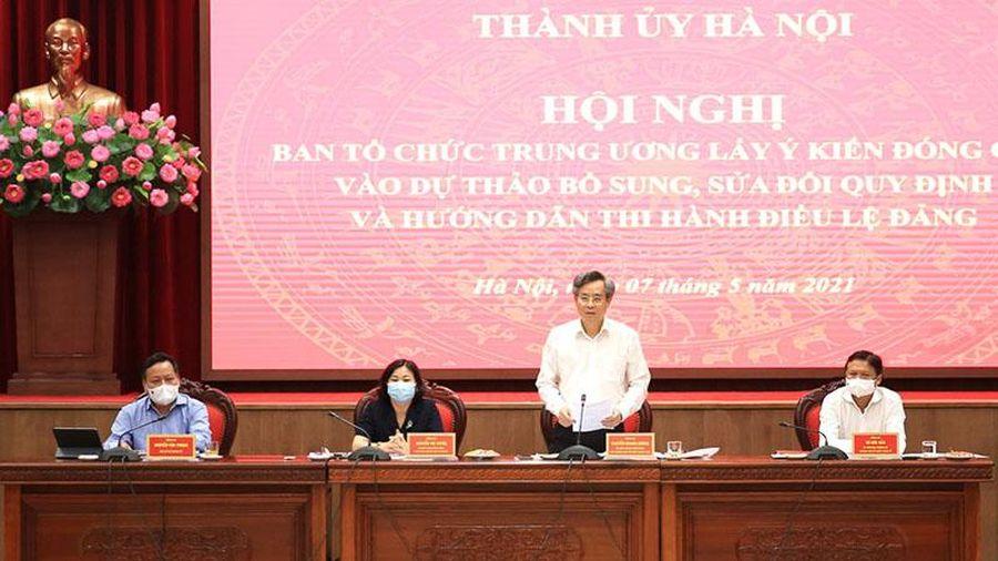 Mỗi năm Đảng bộ TP Hà Nội kết nạp trên 12.000 đảng viên mới