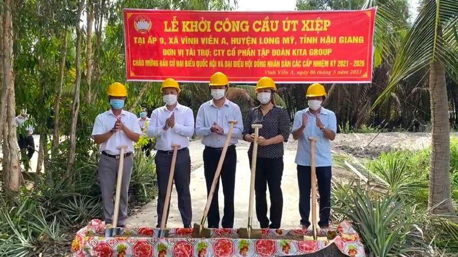 KITA Group tài trợ xây dựng cầu nông thôn ở Hậu Giang