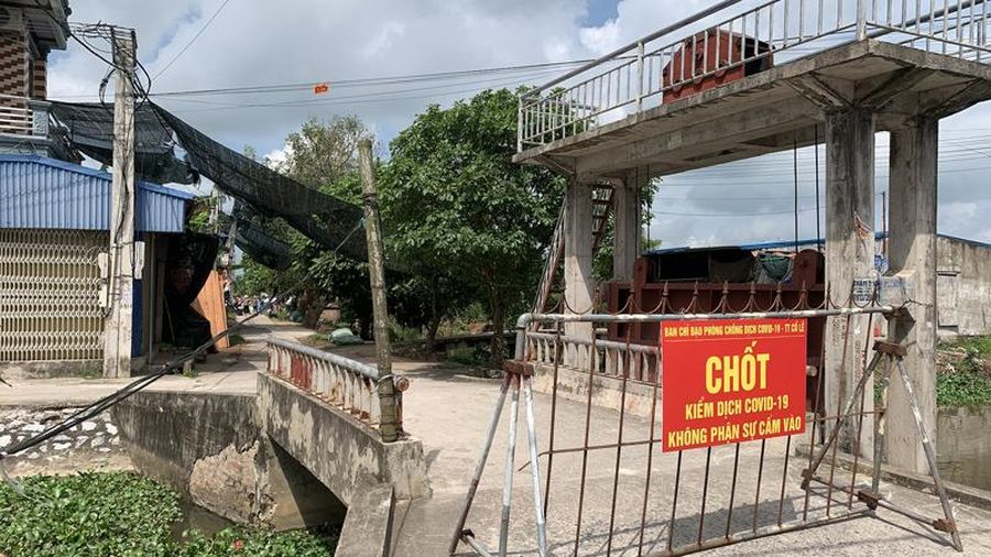 Nam Định: Giãn cách xã hội thị trấn Cổ Lễ từ 0 giờ ngày 8-5