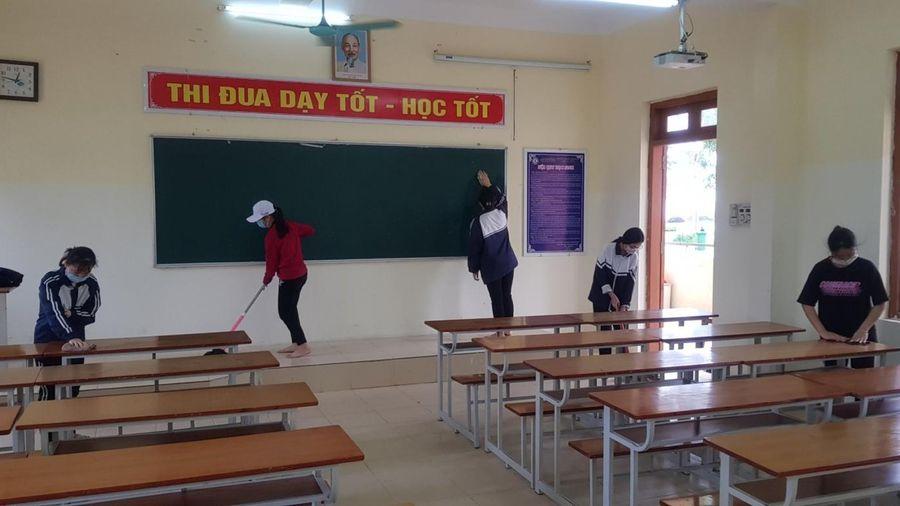 Hải Dương: Học sinh tạm dừng đến trường từ 10/5