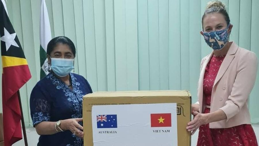 Việt Nam và Australia hợp tác hỗ trợ Timor-Leste chống dịch Covid-19