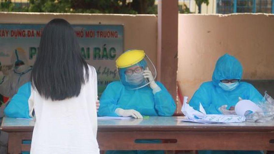 Lịch trình tiếp xúc dày đặc của nữ nhân viên thẩm mỹ dương tính với SARS-CoV-2 ở Đà Nẵng