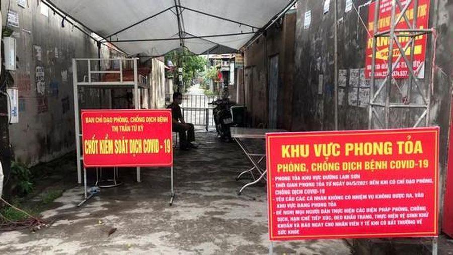 Hải Dương ghi nhận thêm ca mắc cộng đồng liên quan BV K Tân Triều