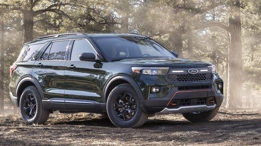 Ford Explorer 2021 có thêm phiên bản Timberline