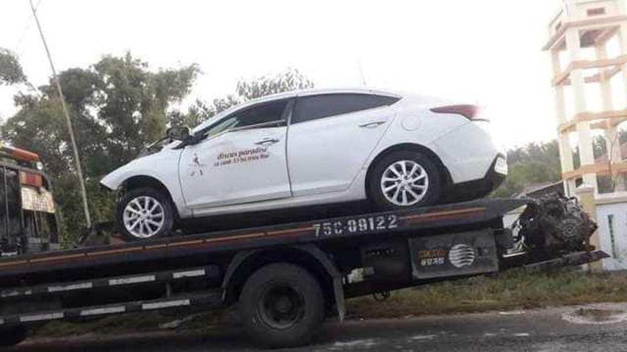 Tránh xe tải ngược chiều, tài xế gây tai nạn khiến 4 người thương vong