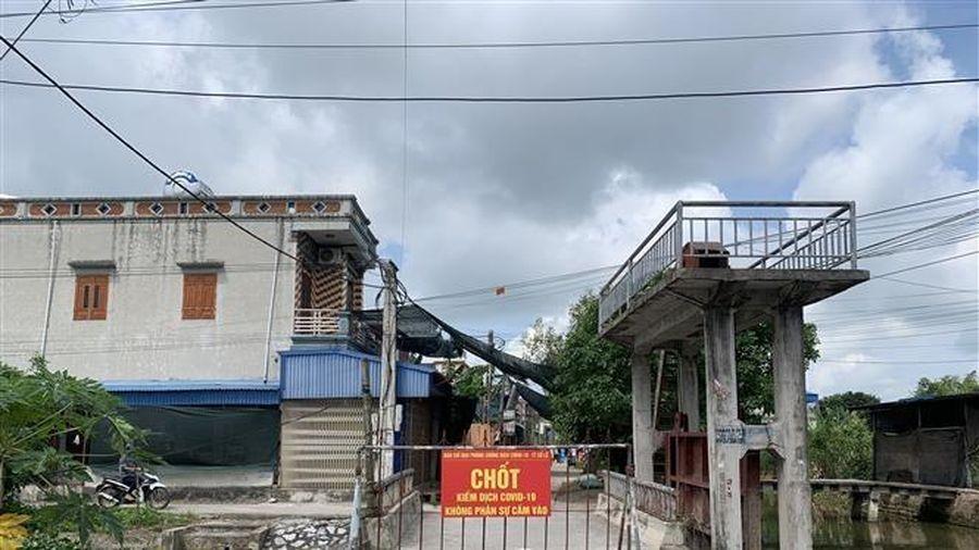 Nam Định, Hưng Yên giãn cách xã hội khu vực có bệnh nhân COVID-19