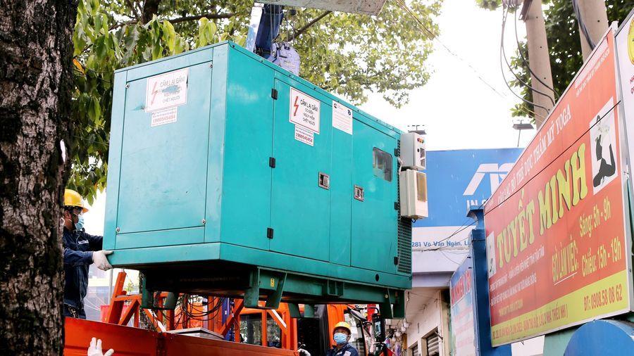TP.HCM lắp đặt gần 400 máy phát điện dự phòng phục vụ bầu cử