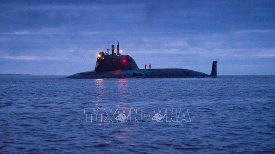 Quân đội Nga tiếp nhận tàu ngầm hạt nhân hiện đại