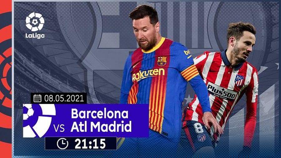 Đại chiến hai gã khổng lồ Barca và Atletico Madrid, trực tiếp trên VTVcab ON