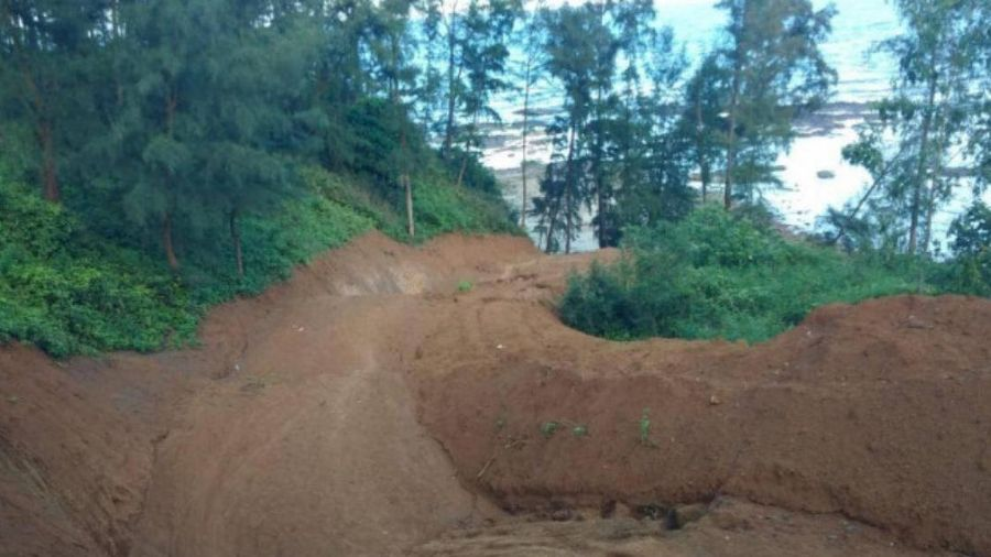 Quảng Trị: Công trình đường du lịch ven biển xâm phạm di tích quốc gia