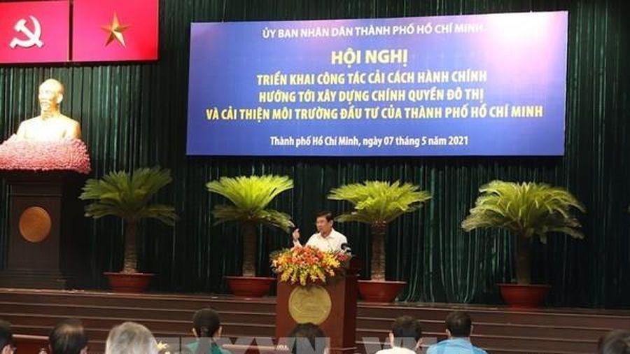 Tp Hồ Chí Minh: Cải cách mạnh mẽ thủ tục hành chính để cải thiện môi trường đầu tư