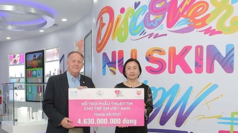 Nu Skin đóng góp thêm 4,6 tỷ đồng hỗ trợ phẫu thuật tim cho trẻ em Việt Nam
