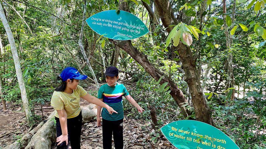 'Du lịch xanh' ở Vườn Quốc gia Cát Tiên