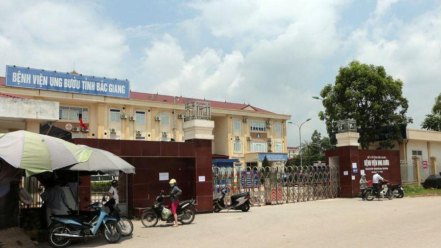 Bệnh viện Ung bướu tỉnh Bắc Giang tạm thời ngừng tiếp nhận bệnh nhân