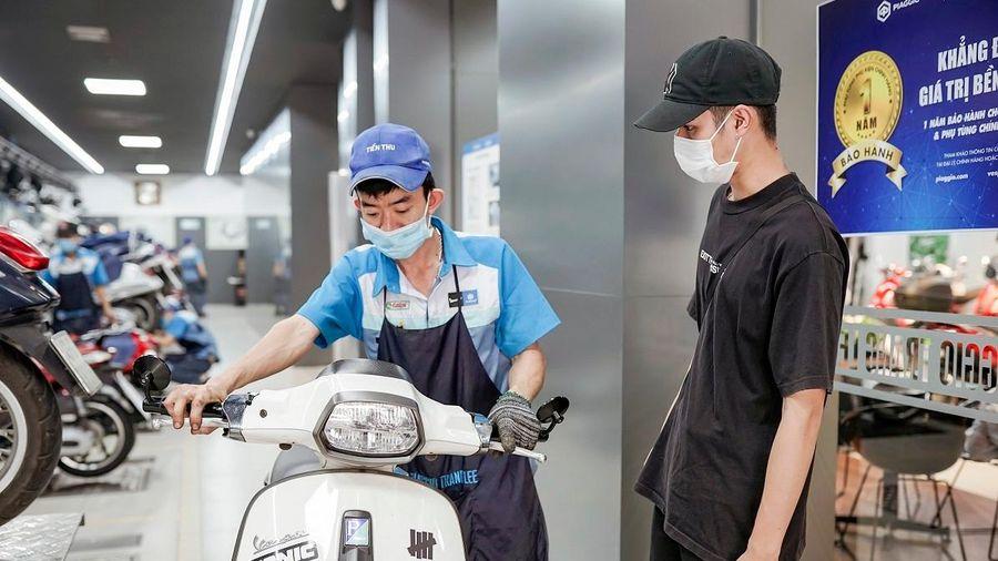 Piaggio Việt Nam tăng thời gian bảo hành lên 5 năm