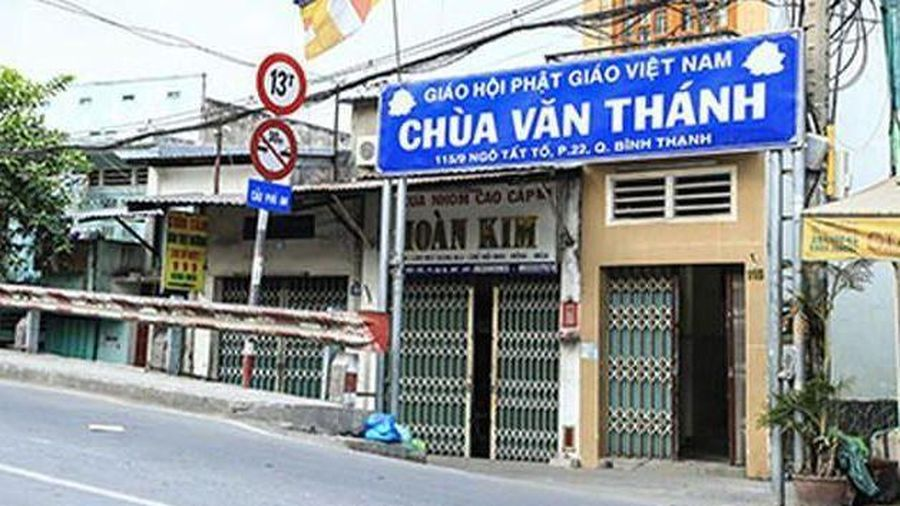 Bệnh nhân tái dương tính tham quan chùa Văn Thánh (quận Bình Thạnh)