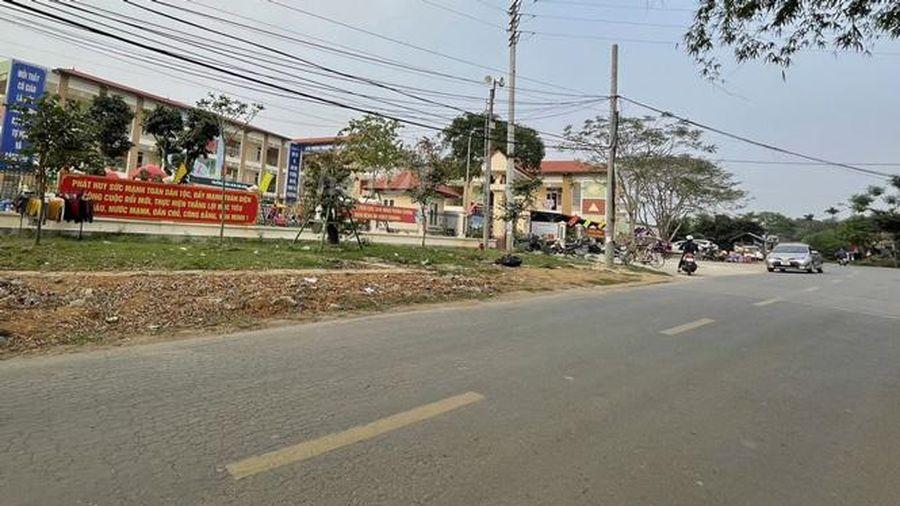 Cấm đường 416 thị xã Sơn Tây để phòng, chống dịch Covid-19