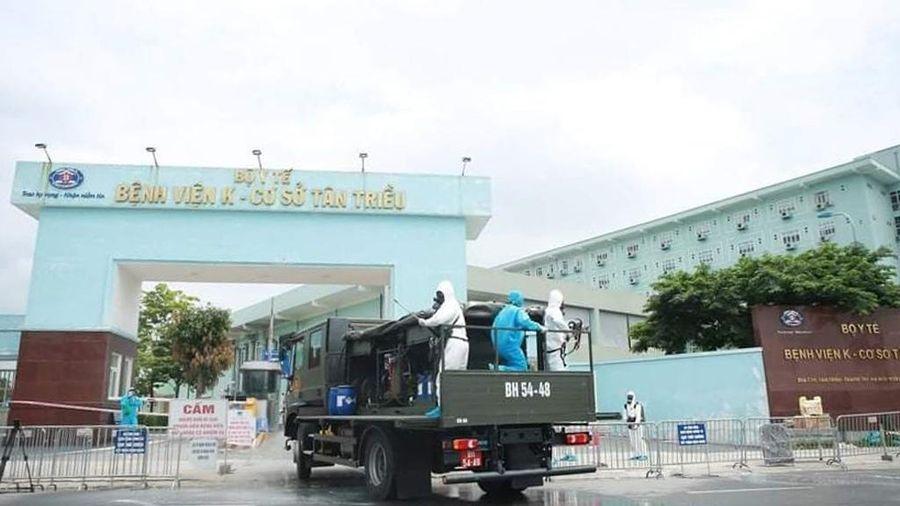 Rà soát những người đến Bệnh viện K Tân Triều từ ngày 16-4 đến nay