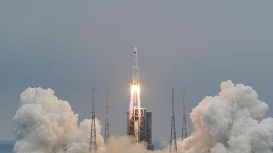 Mảnh vỡ của tên lửa Trường Chinh 5B Trung Quốc có thể rơi xuống Trái Đất vào ngày 8/5 tới