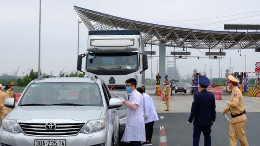Quảng Ninh tổ chức lại các chốt kiểm soát cửa ngõ ra vào tỉnh để phòng COVID-19