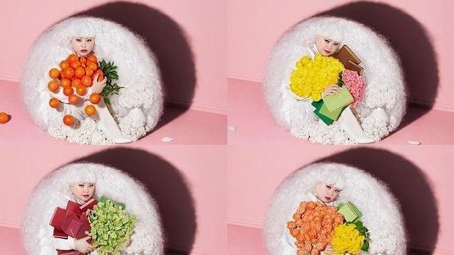 Sushi mà không phải sushi: Netizen tròn mắt với ảnh thời trang của Nữ hoàng Instagram Nhật