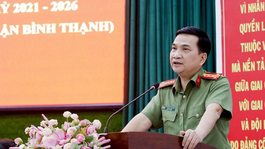 Đại tá Nguyễn Sỹ Quang: Kiên quyết đấu tranh với tham nhũng