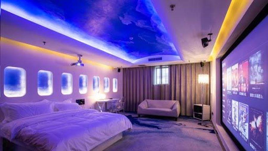 Người Trung Quốc dùng khách sạn làm nơi xem phim