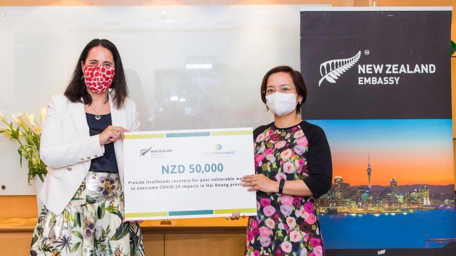 ĐSQ New Zealand hỗ trợ 800 triệu đồng cho phụ nữ Hải Dương