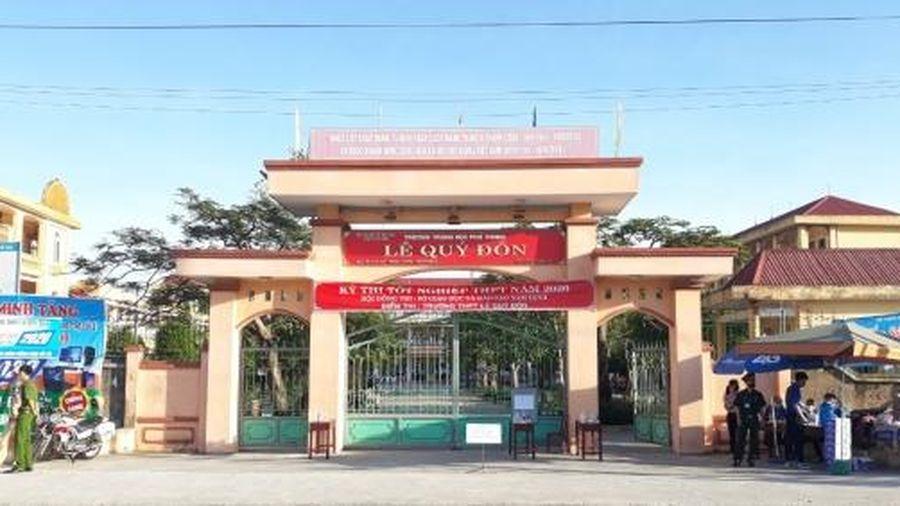 Nam Định: 60 F1 tại Trường THPT Lê Quý Đôn được cách ly tập trung