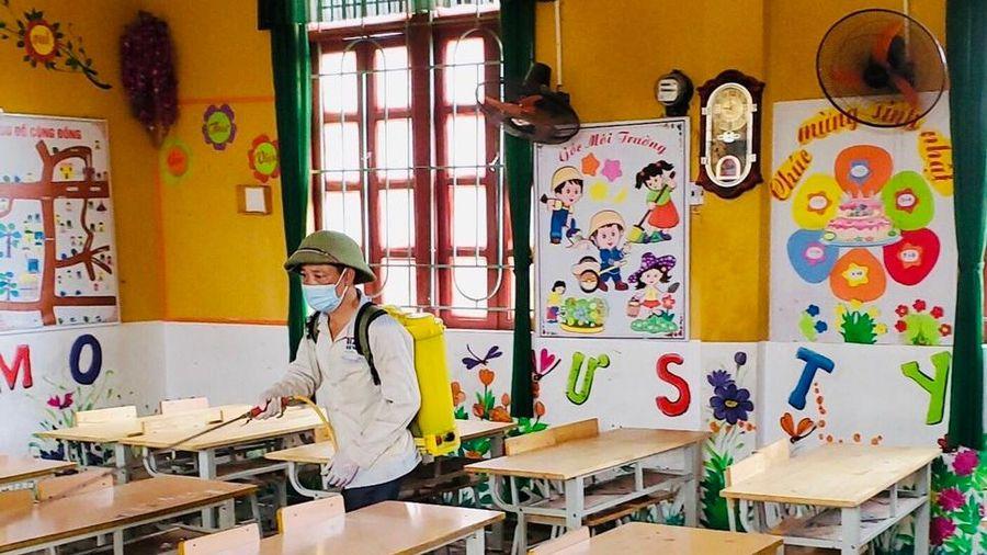 Bắc Giang: Bảo đảm tiến độ học tập cho học sinh vùng dịch Phương Sơn