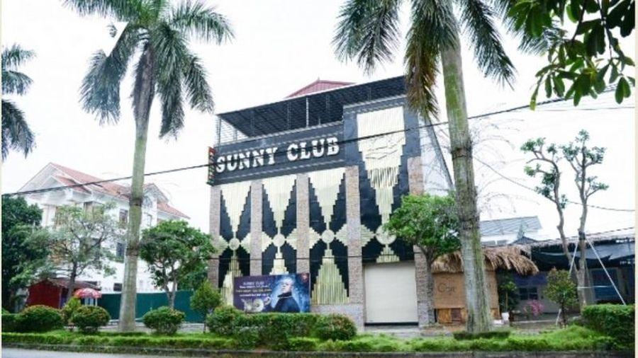 Công an Vĩnh Phúc điều tra về hoạt động của Bar Sunny