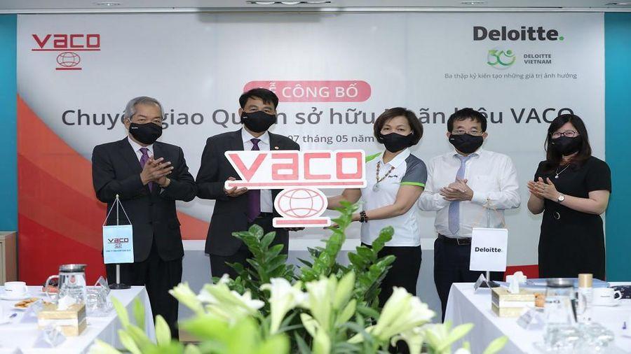 Deloitte chính thức chuyển quyền sở hữu nhãn hiệu cho VACO