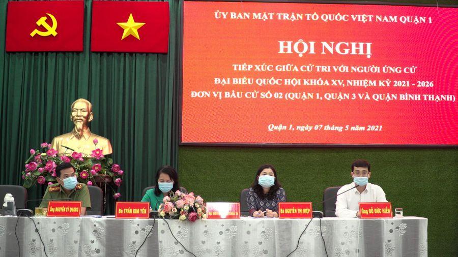 Ứng cử viên Đại biểu Quốc hội khóa XV – Đại tá Nguyễn Sỹ Quang: Nỗ lực xây dựng TP.HCM ngày càng phát triển